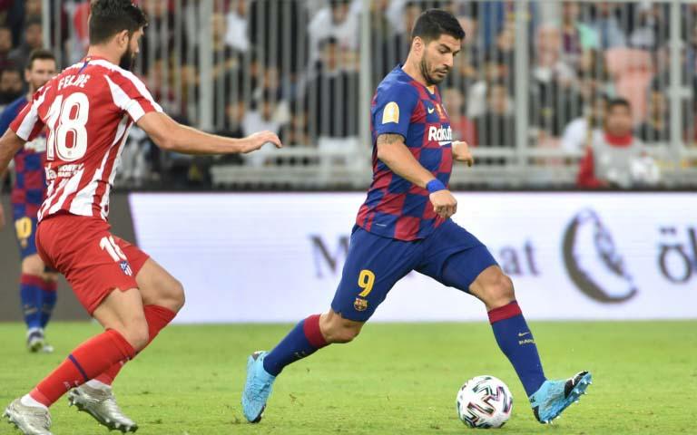 Neymar welcome anytime at Barca, says Suarez