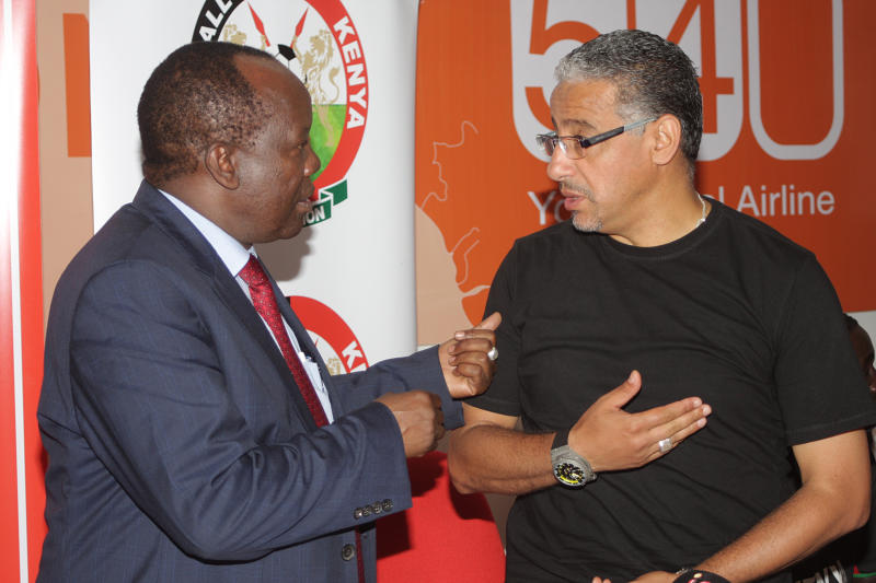 FKF: No more Amrouche mistakes