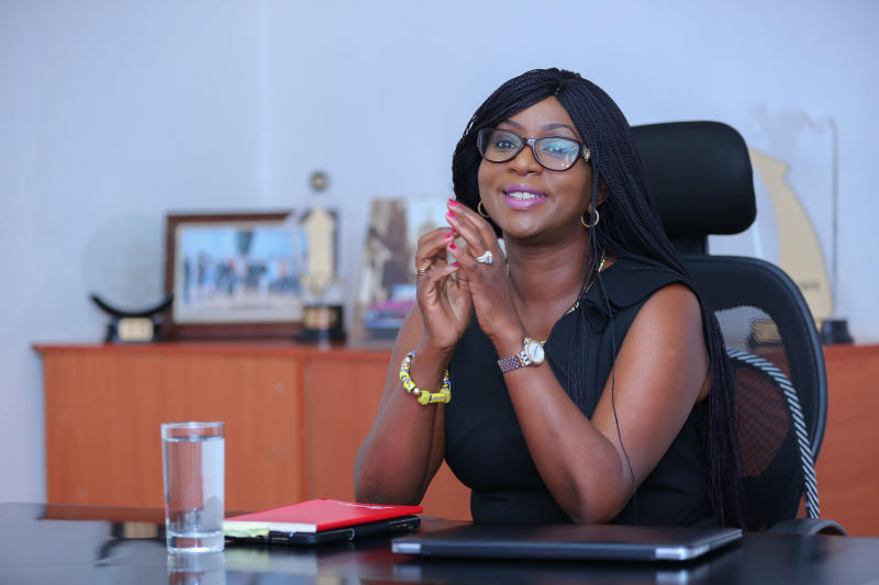 Joanne Mwangi is the CEO of Professional Marketing Services (PMS) Group Africa Ltd.
