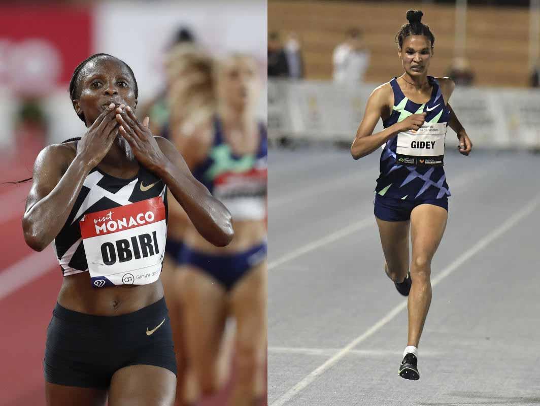 Obiri and Gidey ready for 3000m showdown in Doha