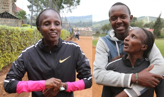 Obiri says farming keeps her on track