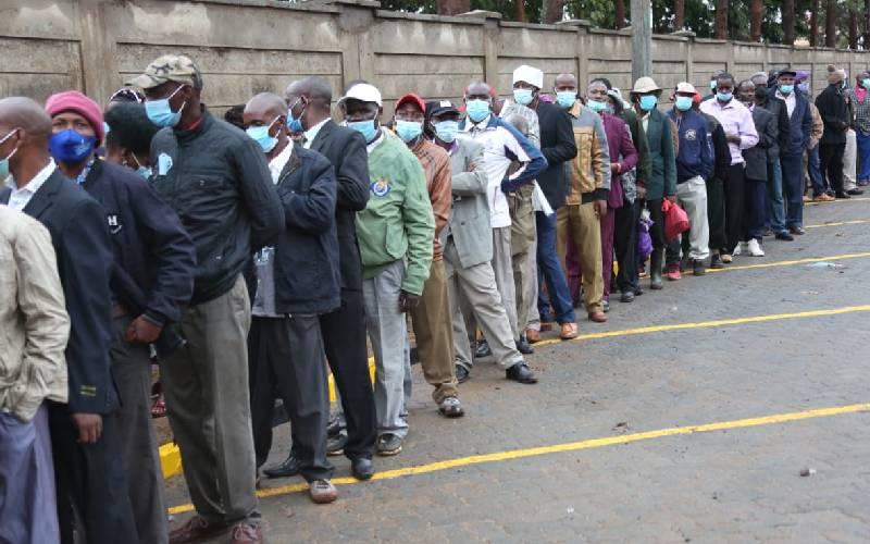 PHOTOS: Kirinyaga residents throng Wanguru stadium for Mashujaa Day celebrations
