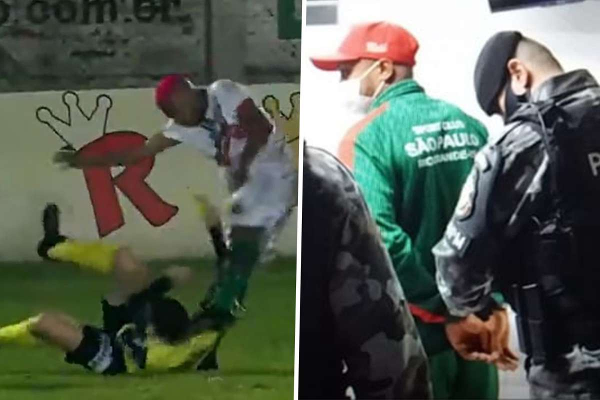 Player charged with attempted murder after attacking referee