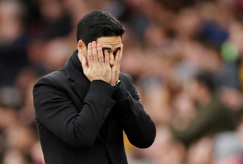 Probable Arsenal lineup against Man City – Arteta sweats on Xhaka