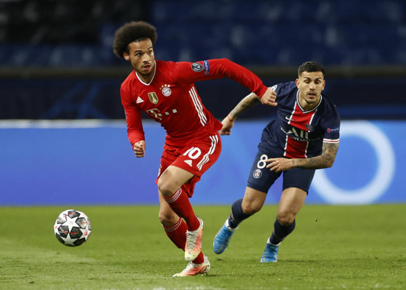 PSG knock Bayern out on away goals to reach last four