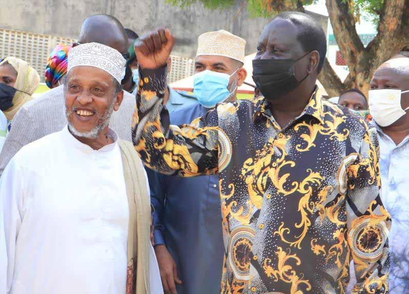 Raila: How to beat Covid-19 and revive the economy in five months