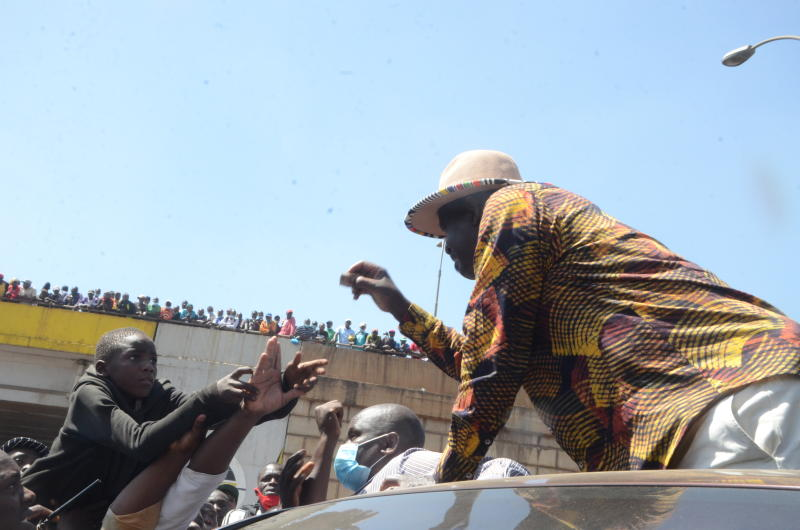Raila: My tour of Mt Kenya unstoppable