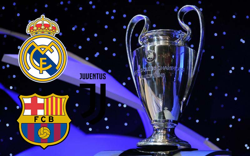 Real Madrid, Barcelona and Juventus face two year Champions League bans