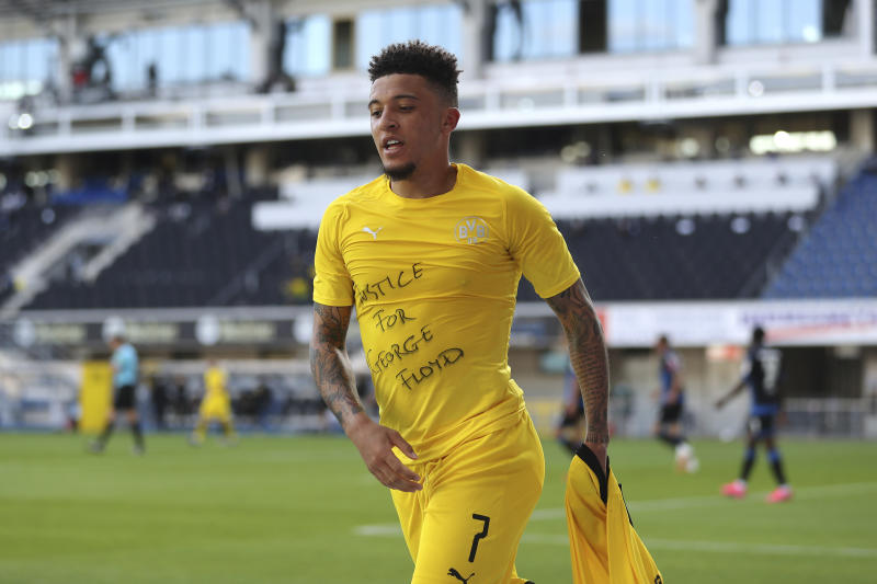 Real Madrid 'eye Jadon Sancho transfer in 2021'