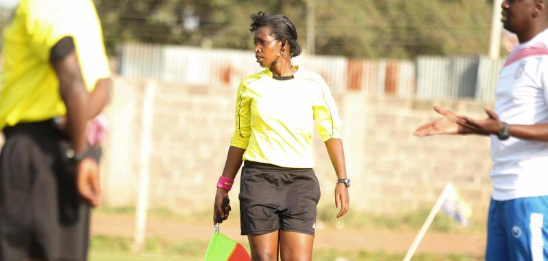 Referee Kendi's love for the game and camera