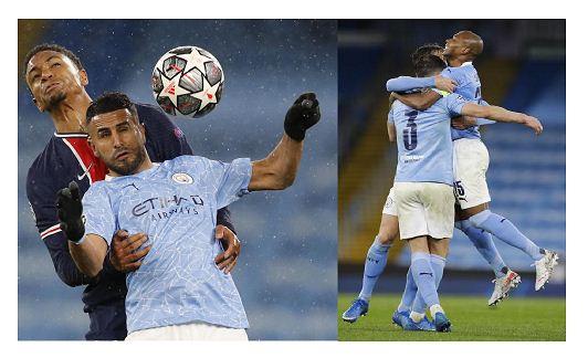 Riyad Mahrez fires Manchester City into first Champions League final