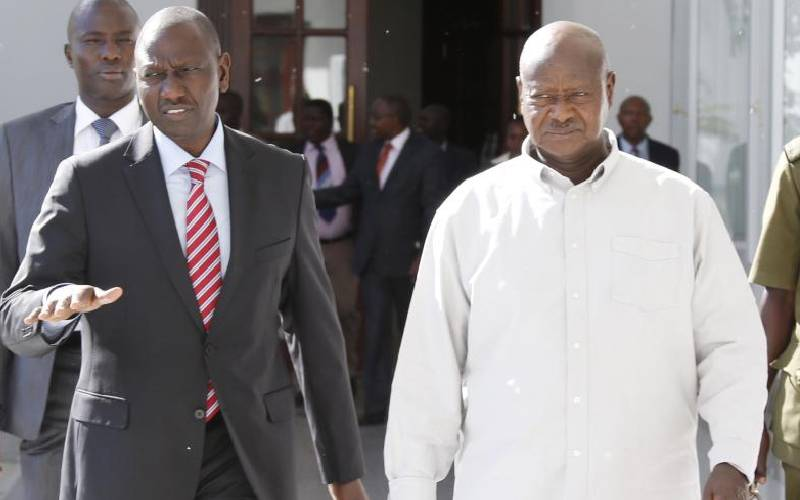 Ruto: Airport drama meant  to frustrate me