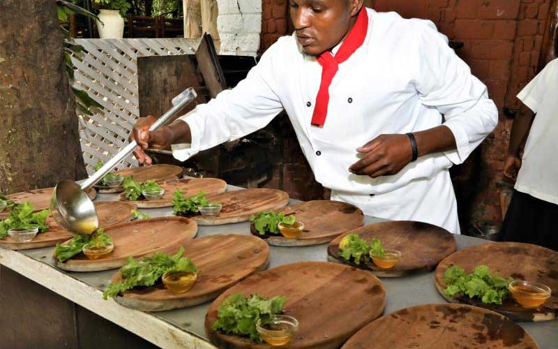 Head Chef Jackson Mwangi