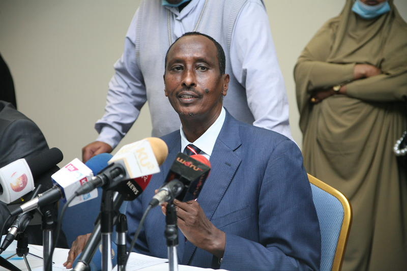 Sacked Wajir governor and supporters storm office, vow to 'work for people'