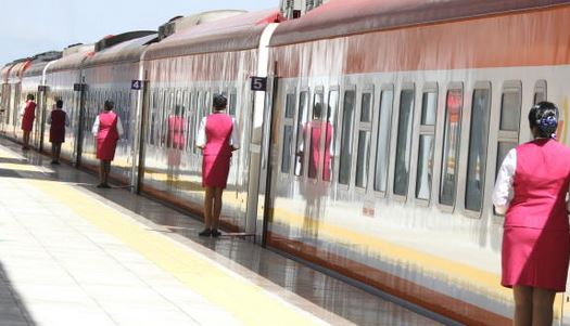 SGR passenger train resumes operations on Monday