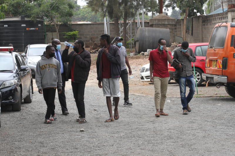 Sh20m motorcycles theft suspects charged