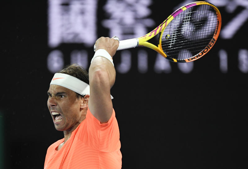 Shock as Greek ends Nadal's bid for record 21st Grand Slam title