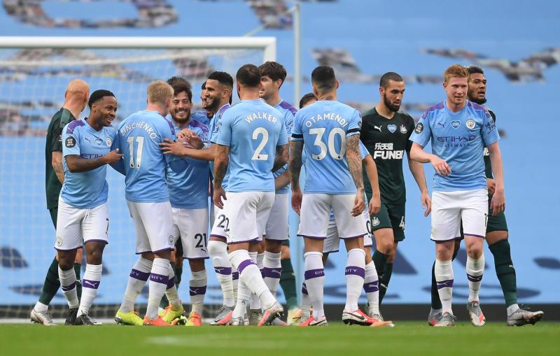 Silva shines as Man City thrash Newcastle 5-0