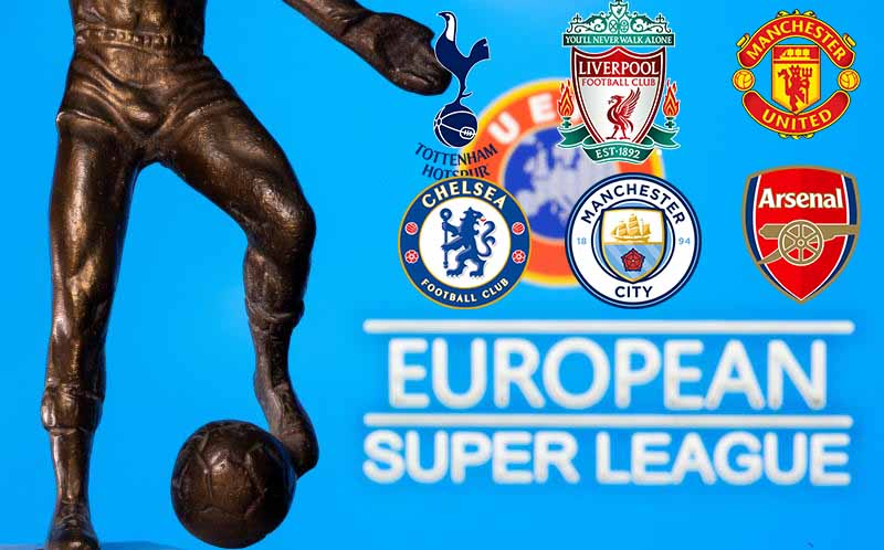 Six English sides formally withdraw from European Super League