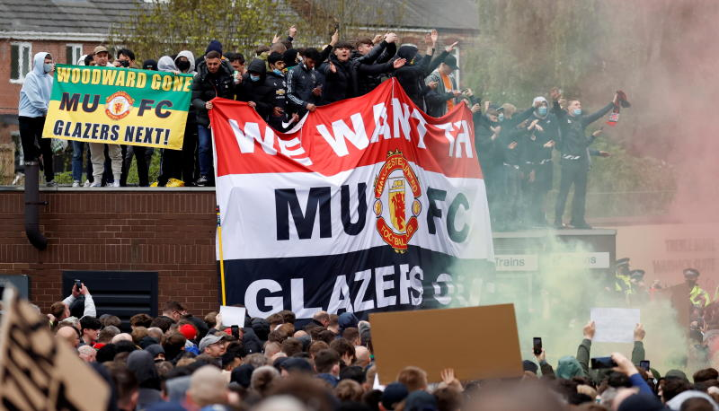 Solskjaer: Man United fans must be civilised in their protests