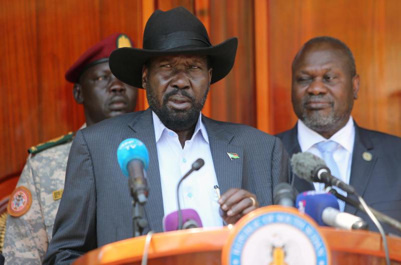 South Sudan President Salva Kiir orders end to factional infighting
