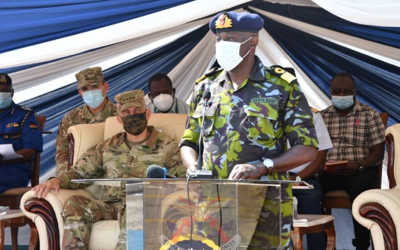 Special forces security training begins in Mombasa