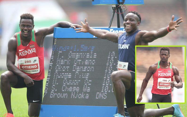 Sprinter Otieno eyes good show as he receives Safaricom call