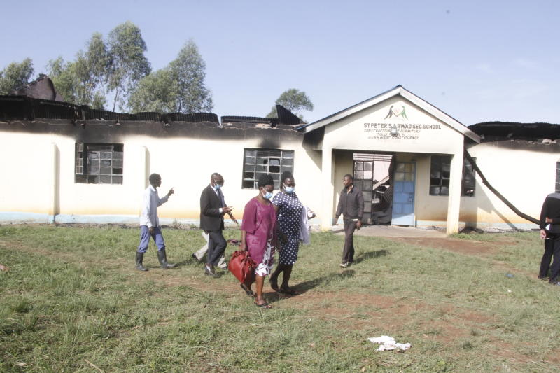 Students sent home after suspected arsonists burn Migori school dormitory