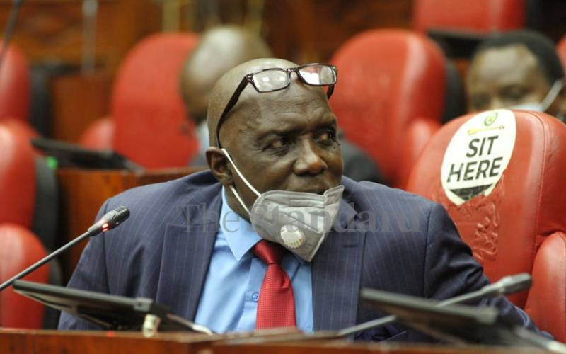 Swazuri thrown under the bus over Sh12 billion SGR payouts