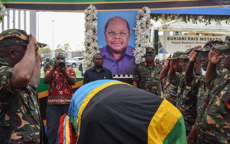 Tanzania's ex-president Mkapa buried