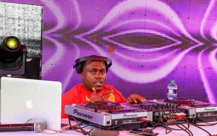 Euphorique, the deejay with Uhuru Kenyatta's music playlist