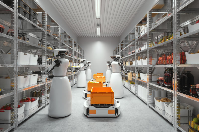 The robots coming to save logistics firms in a new age