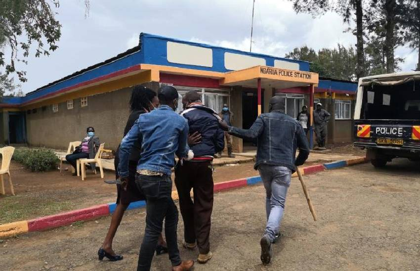 Three arrested over failed raid on Kinamba Police Station
