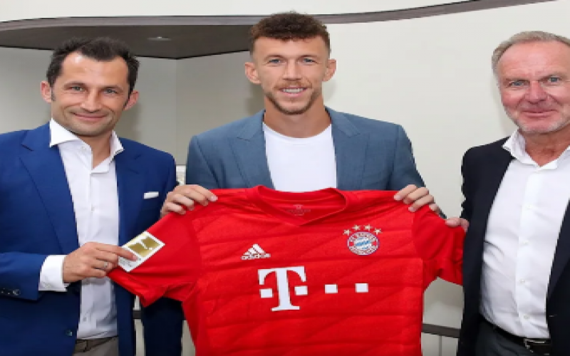 Bayern sign winger Perisic from Inter Milan