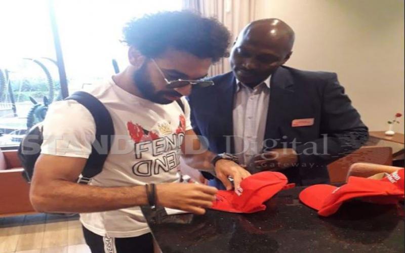 EXCLUSIVE: Liverpool's Mo Salah in Nairobi [Photos]