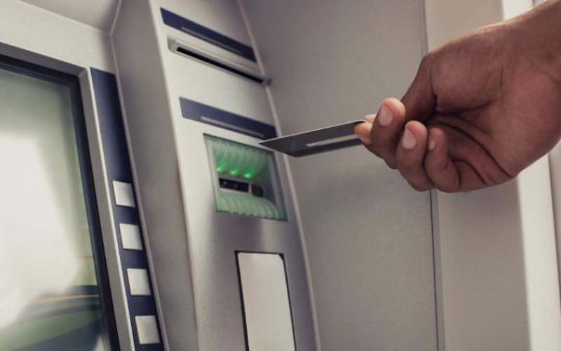 Five police officers arrested in suspected theft at ATM