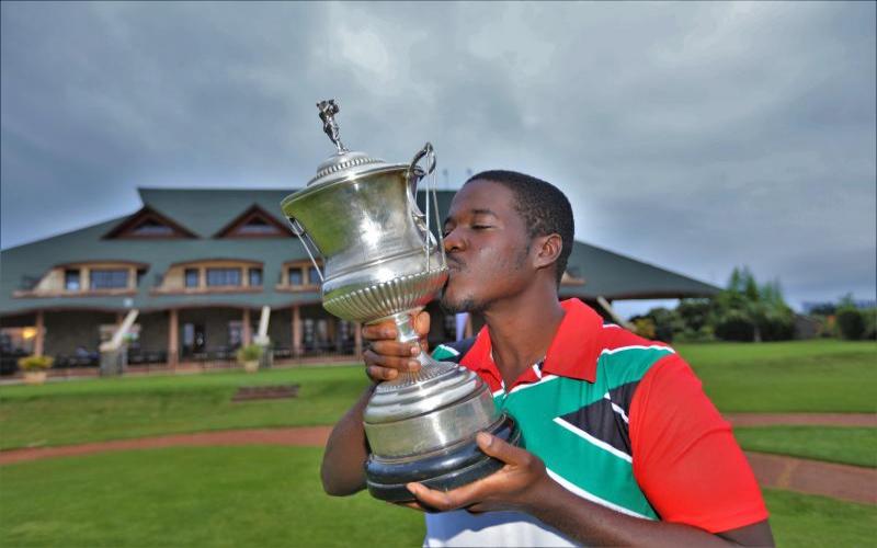 Golf: Mudanyi emerge as winner of the lowest average gross score