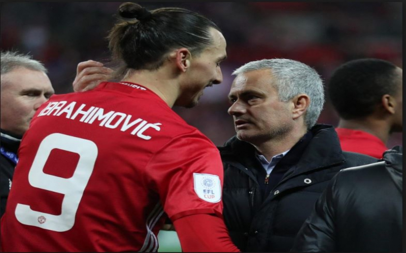 Ibrahimovic reveals how Mourinho blasted him in front of team-mates
