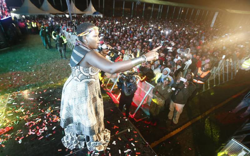 Kenyans welcome 2020 with gospel songs and fireworks