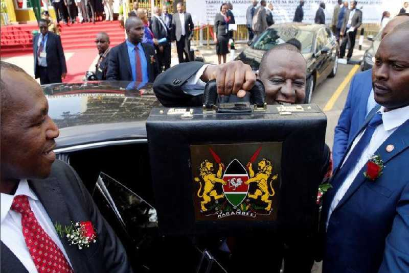 Kenya's budget deficit to fall to 4.7pc of GDP
