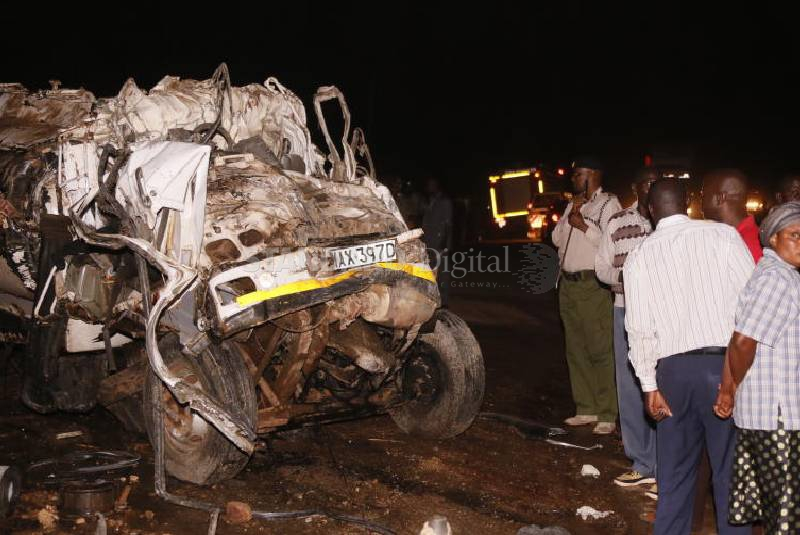 Less people died in accidents in December, NTSA says