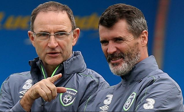 Martin O'Neill and Roy Keane resign from Republic of Ireland job