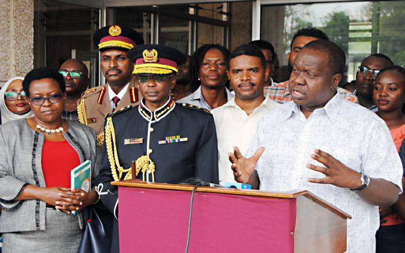 Matiang'i should make new post work for the good of our country