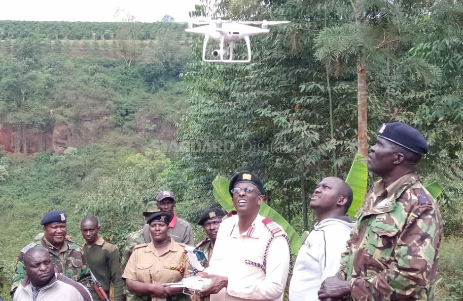 Murang'a to use drones in fight against illicit brews