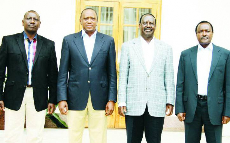 Of Kenya's politics and the parable of three lions