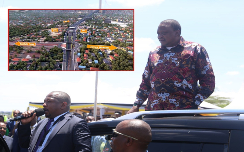 Uhuru launches construction of JKIA-Westlands Expressway