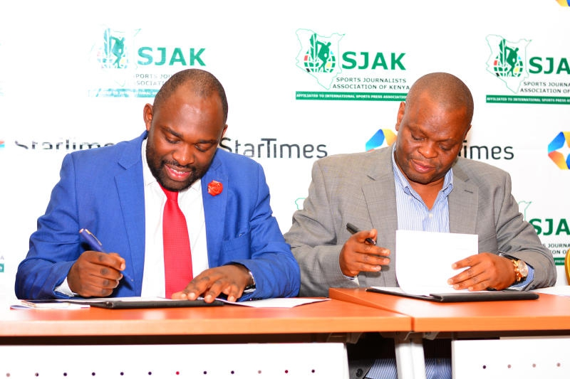 SJAK, StarTimes renew Sh4.5m annual deal