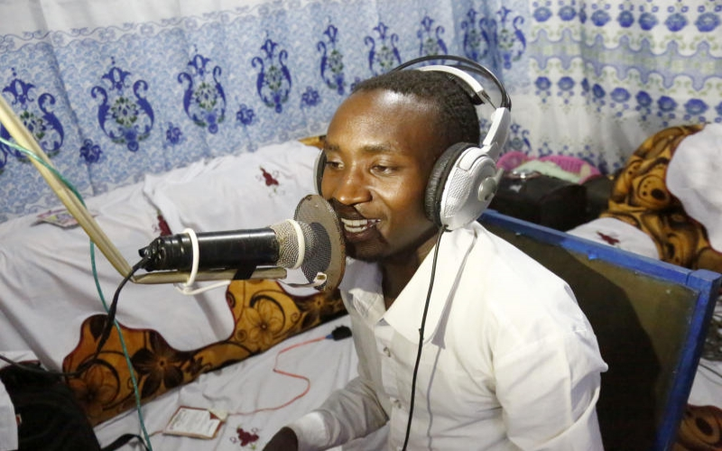 Want to start a radio station? I did it using electronic waste