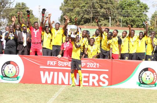 Tusker's Bwire stops Gor from the spot in FKF Super Cup battle