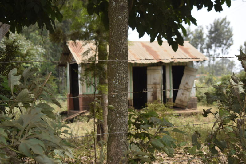 One of the dilapidated buildings at Kithoka Primary School in Meru County. (Photo: Olivia Murithi)